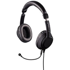 hama pc gaming headset 4 poliger klinkenstecker und 3 poliger adapter ideal für pc notebook konsole tablet smartphone abnehmbares mikrofon schwarz