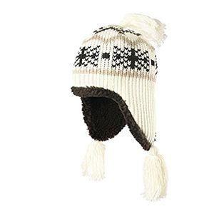 Angebote für -strickmütze unisex wintermütze norwegermütze one size skimütze wollweiß