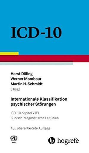 internationale klassifikation psychischer störungen icd10 kapitel v f klinischdiagnostische leitlinien