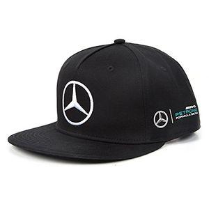 deals for - mercedes amg petronas herren mamgp rp flat brim hamilton black cap schwarz one size