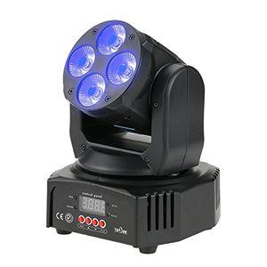 Angebote für -tomshine 60w 4 leds moving headbühnenlicht disco lampedmx512 disco licht1618 kanäle 4 steuerungsmodi für party pub bar hochzeitszeremonie
