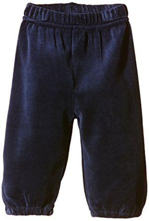 Hot care baby unisex baby nicki hose einfarbig gr 68 blau dark navy 778