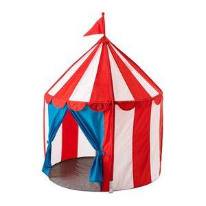 Top ikea spielzelt kinderzelt cirkustält zusammenfaltbares zirkuszelt in 100 x 120 cm waschbar rot weiß