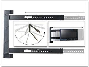 Angebote für -tv wandhalterung halterung led lcd 180° grad klappbar erker ecke camping 42 64 zoll modell s91