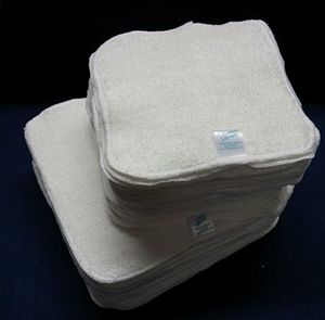 Buy Cheeky Wipes - Toallitas reutilizables de tela de bambú para bebé, 25 unidades Guía