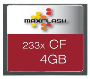 photos of Maxflash Compact Flash (CF) Card 4GB Speicherkarte (original Handelsverpackung) Sonderangebote Kaufen   model Computer & Zubehör