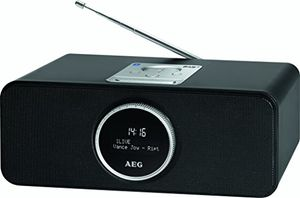 aeg sr 4372 dab stereoradio pll rds ukw stereoradio lcd display aux in bluetooth
