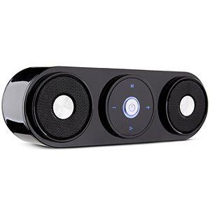 deals for - bluetooth lautsprecher zenbre z3 10w tragbare wireless lautsprecher mit 20 stunden spielzeit computer lautsprecher mit dual treiber und verstärktem bass resonator schwarz