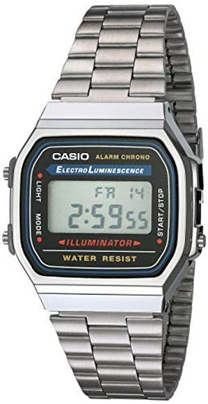 casio collection unisex armbanduhr a168wa 1yes