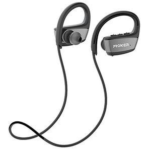 deals for - drahtlose bluetooth kopfhörerproker ipx7 wasserdichter bluetooth 41 laufen kopfhörer in ear kopfhörer kabelloser kopfhörer drahtlose kopfhörer für iphoneipadsamsunghtcsiri mit eingebautem mikrofon8 stunden akkulaufzeit schwarz