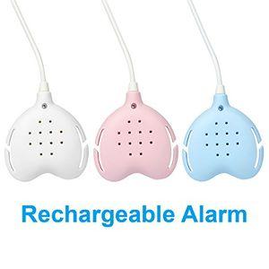TEQIN Best-care Bedwetting Enuresis Alarm, 3 Funciones Alarma de humectación de cama recargable con sonidos fuertes y vibraciones fuertes para los durmientes profundos, Pager del entrenamiento del potty para los muchachos, las muchachas, todos los niños (blanco) ofertas Especiales