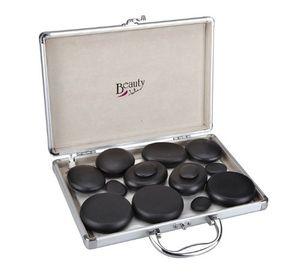 ofertas para - jata hs70b set terapéutico para masaje corporal 14 piedras de diferentes formas y tamaños