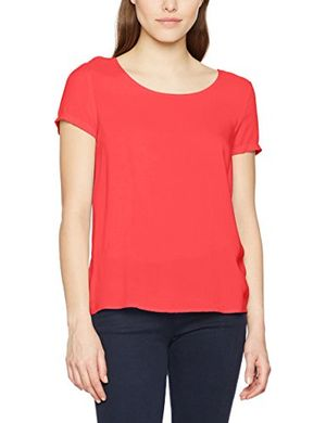 only damen t shirt onlfirst ss top noos wvn rosa teaberry teaberry 40