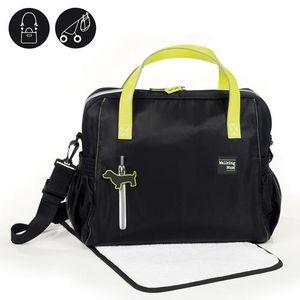 ofertas para - walking mum urban baby bolso cambiador color negro
