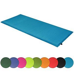 Buy alpidex isomatte deluxe 200 x 66 x 10 cm selbstaufblasende thermomatte selfinflating matte farbetürkis