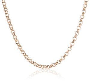 engelsrufer erbskette rosévergoldet 925er sterlingsilber stärke 21 mm länge 45 cm