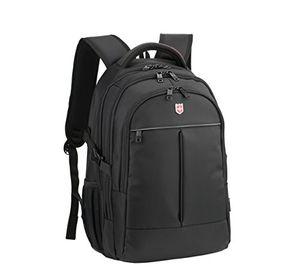 deals for - ruigor icon 87 großer multifunktionaler rucksack tagesrucksack 30l wasserdichter laptop tasche 15 zoll schwarzer sportrucksack für damen und herren rg6187
