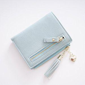 Angebote für -frau brieftasche von zaiyi frau kleine brieftasche mini short frauen kleingeld kleine geldbörse süße kleine karte brieftasche in der langenblue