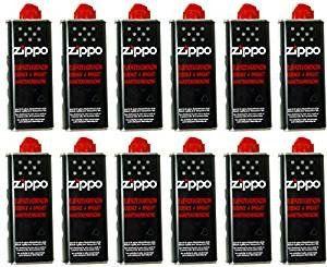ofertas para - zippo botes de gasolina para mecheros zippo 12 unidades 125 ml
