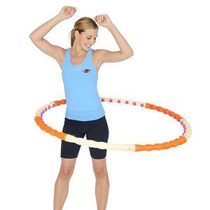 Health Hoop Aro Hula Hoop magnético desmontable, con 48 imanes, 1.2 kg Hot oferta