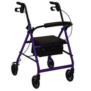 Barato Andador rollator plegable con ruedas y frenos especial artritis Mejor compra