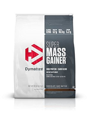 Calientes Super Mass Gainer bag 12 lbs (5443g) Masa de tarta de chocolate comparación