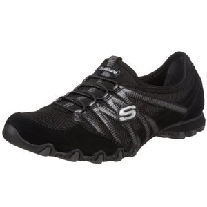 skechers bikers hot ticket damen sneakers schwarz bkcc 41 eu
