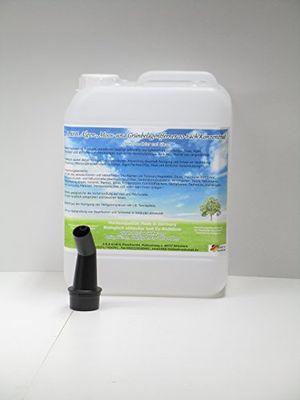 Angebote für -akb algenentferner moosentferner moosvernichter grünspanentferner grünbelagentferner 20 fach hochkonzentrat 1415 5 l 1 gratis ausgiesser baua nrn 62256