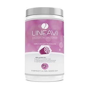 LINEAVI Colágeno hidrolizado proteína en polvo • 100% colágeno de vacuno • fabricado en Alemania • el colágeno refuerza el tejido conjuntivo • 410 g guía del comprador