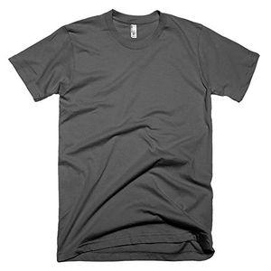 Buy american apparel unisex baumwoll t shirt kurzarm xl asphalt