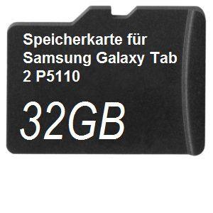 Angebote für -32gb speicherkarte für samsung galaxy tab 2 p5110