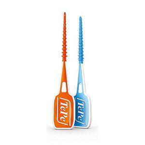 Angebote für -tepe easypick interdentalbürsten probier set s xs und m l blau und orange 2 x 36er packung