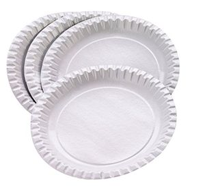 Hot 100 Plato de cartón blanco 23cm ofertas especiales