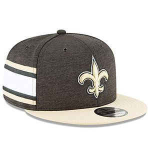 Cheap new era nfl new orleans saints authentic 2018 sideline 9fifty snapback home cap größe ml