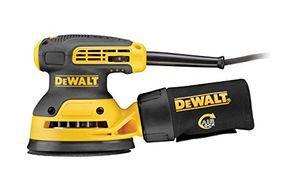 Buy dewalt exzenterschleifer dwe6423 mit absaugung staubfangbehälter staubgeschütztem schalter getriebegehäuse i vibrationsarmes schleifgerät mit kraftvollem motor i 280w i 125mm