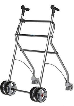 Inicio Forta fabricaciones - Andador de aluminio para ancianos Rollatino - Negro con el envío libre