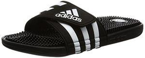 Buy adidas adissage herren dusch badeschuhe schwarz blackblackrunning white ftw 42 eu 8 herren uk