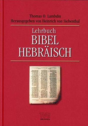 lehrbuch bibel hebräisch tvg lehrbücher