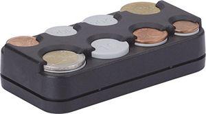 deals for - hr imotion 8er münzbox für euro münzen von 1 cent bis 2 euro mit federausgabe made in germany selbstklebend 10310301