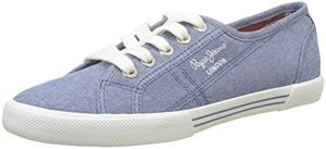 Angebote für -pepe jeans london damen aberlady eighty sneaker blau azzurro 36 eu
