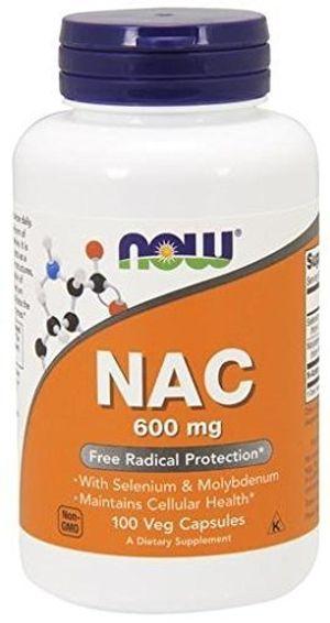 Now Foods, NAC, Antioxidante Crítico - 600mg x100Vcaps guía del comprador