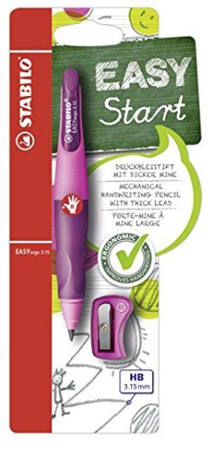 Angebote für -ergonomischer druck bleistift stabilo easyergo 315 in pinklila inklusive 1 dicken mine härtegrad hb spitzer für rechtshänder