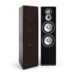 deals for - numan retrospective 1977 mkii • standlautsprecher • 3 wege lautsprecher • hifi speaker • mit brauner lautsprecherabdeckung • 120 watt • 2 x 20 cm tieftöner • 10 cm mitteltöner • hochtöner • schwarz