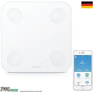 yunmai Mini 2yunmai Balance Smart Báscula Báscula de análisis corporal de grasa corporal (Smart Scale 3kg de 180kg # zinnz Selected # ofertas especiales