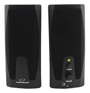 deals for - esperanza giocoso multimedia stereo pc lautsprecher computer boxen mit aux eingang und lautstärkenregulierung