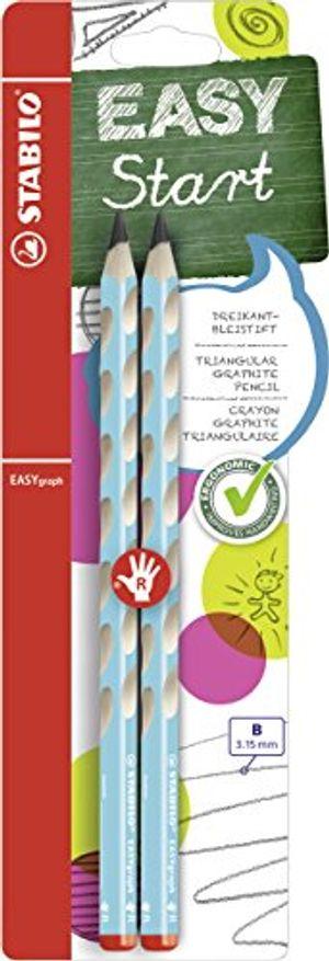 Angebote für -dreikant bleistift stabilo easygraph in blau härtegrad b 2er pack für rechtshänder