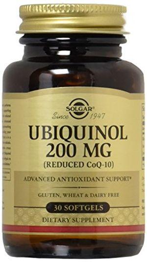 ofertas para - ubiquinol reducido coq10 200 mg 30 cápsulas blandas solgar