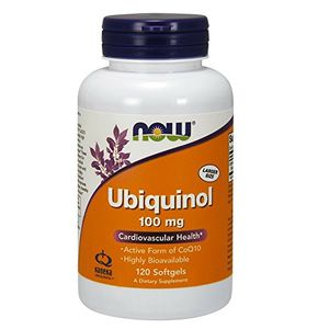 ofertas para - ubiquinol 100 mg 120 cápsulas now foods