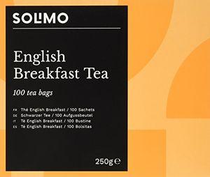 Hot amazon marke solimo english breakfast tea schwarzer tee aufgussbeutel 6er pack 6 x 100 teebeutel