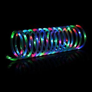Top meikee 120 led lichterschlauch 12m rgb 8 modi mit memory funktion für innen außen party weihnachten dekolicht